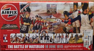 C373 Waterloo Airfix model